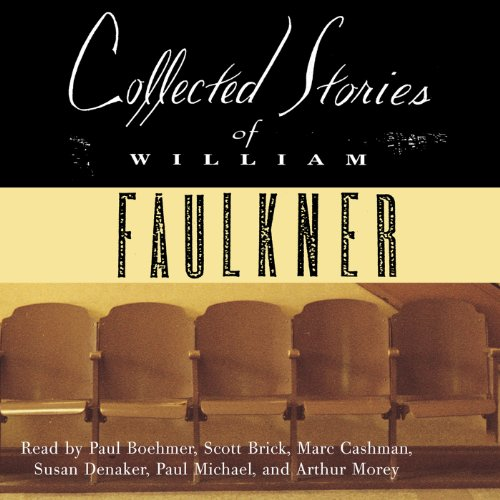 Collected Stories of William Faulkner audiobook cover art