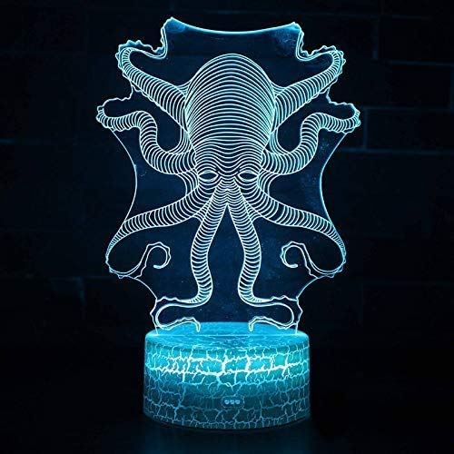 3D LED-lamp 7 kleuren Lucky Tree Touch LED USB tafel Lampara lamp LED nachtlampen voor kinderen baby slee nachtlamp projector