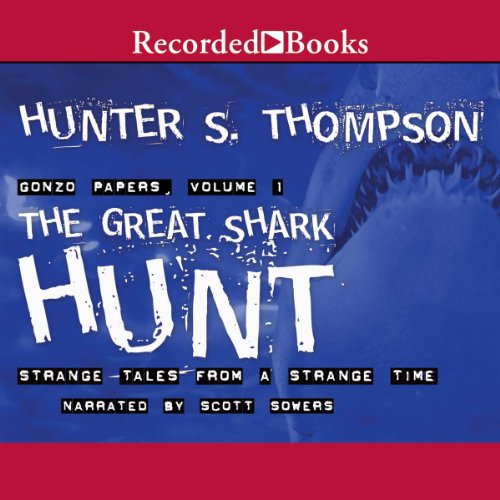 The Great Shark Hunt  audiobook cover art