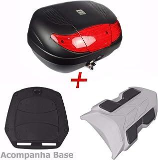 Bau Bauleto Para Moto Xre 300 + Bagageiro Xre 300 45 Litros