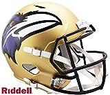 Baltimore Ravens AMP Alternate Series Riddell Speed Full Size Replica Football Helmet - NFL Replica Helmets