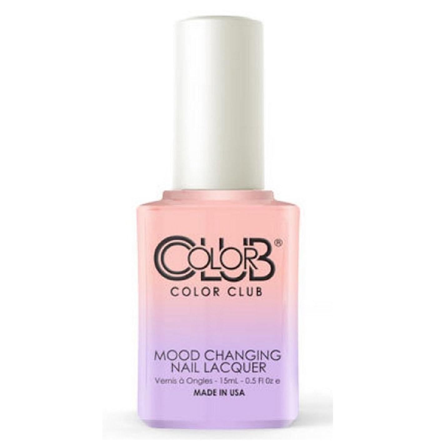 かける胚闘争Color Club Mood Changing Nail Lacquer - Everything's Peachy - 15 mL / 0.5 fl oz