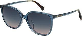 Toms 10014808 Womens Sandela Teal Crystal Frame Aqua Blush Lens Square Sunglasses