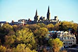 Georgetown University Campus Washington DC Photo Art Print Cool Huge Large Giant Poster Art 54x36