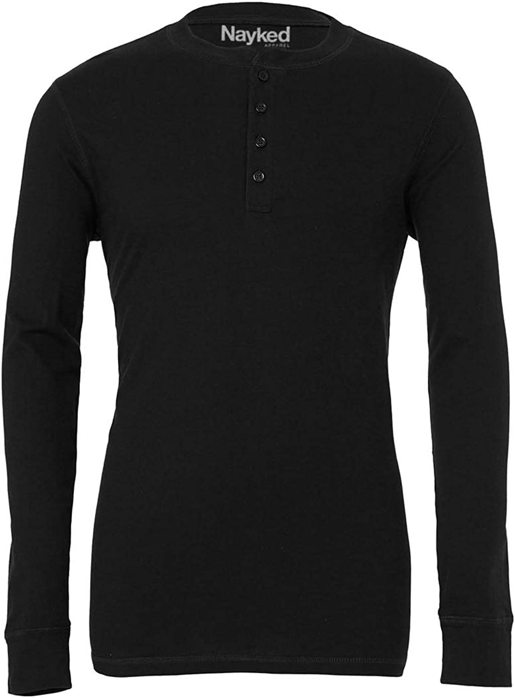 Nayked Apparel Men's Ridiculously Soft Henley