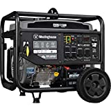 Westinghouse WPro8500 Super Duty Industrial Portable Generator - 8500 Rated Watts &...