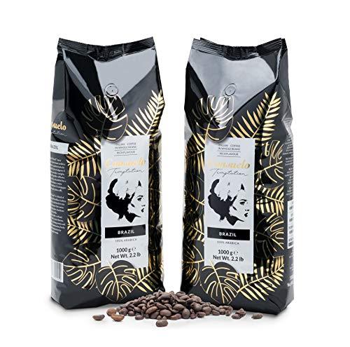 Kaffee in ganzen Bohnen, Consuelo Brazil - 2x1kg