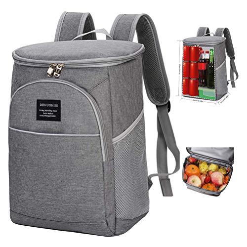 Picknick-Rucksack, isolierte Kühltasche Lunch Rucksack/Rucksack Wiederverwendbare Kühltasche Rucksack Wasserdicht Leichte Wein Rucksack für Camping, Angeln, Grillen Daypack
