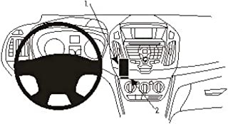 Brodit 854989 ProClip Transit Connect 14 14 Montageort links der Mittelkonsole