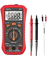 AoKozo Digitale multimeter meetinstrument, 6000 counts, auto-range, multimeter, True RMS'