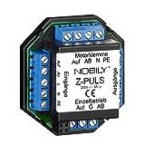 NOBILY Das Trennrelais Z-Puls für einen Motor für einen Motor speichert einen Fahrbefehl für 120 Sekunden Selbsthaltezeit - Trennrelais mit Anschlussmöglichkeit für eine Zentrale