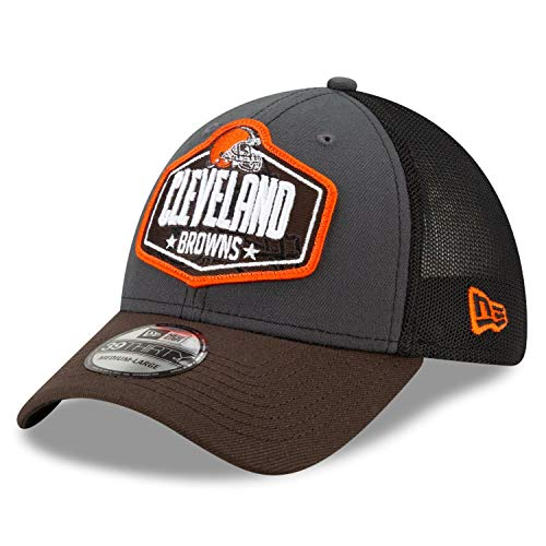 New Era - Gorra de la NFL Cleveland Browns 2021 Draft 39Thirty Trucker Stretch Cap - Multicolor multicolor M/L