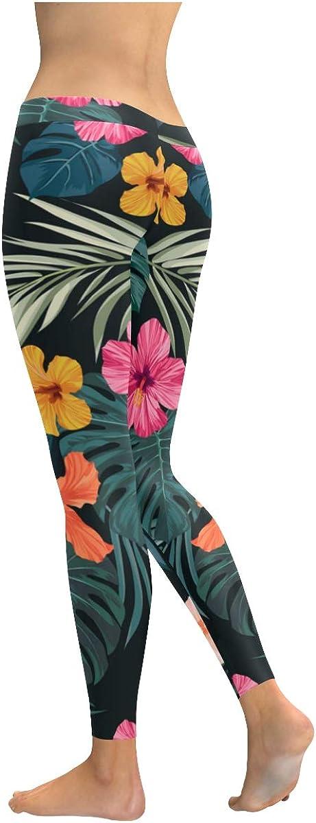 Womens Fashion Leggings Houston Mall Flowers Flora Boston Mall Colorful Stretchy Handmade