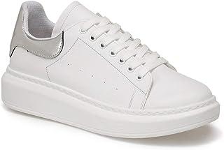 ADELİTA Gümüş Kadın Havuz Taban Sneaker