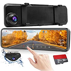 10 Best Mirror Dash Cam Review and Buying Guide 2019 29