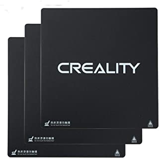 Creality 3D Printer Build Surface Heat Bed Platform Sticker Sheet for CR-10,CR-10S 3D Printer 310X310MM (Pack of 3)