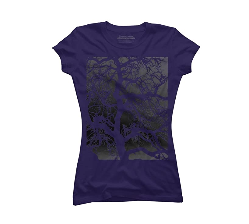 Design By Humans synaptic tree inverted Juniors' Graphic T Shirt