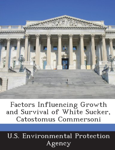 Factors Influencing Growth and Survival of White Sucker, Catostomus Commersoni