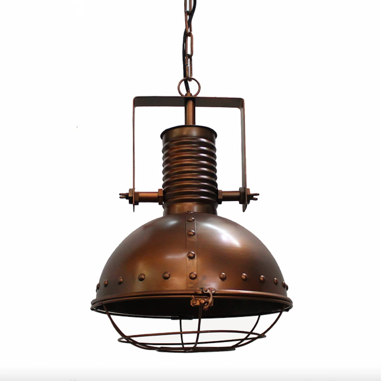 Industrial Pendant Factory Dock Light Rivets Painted with Tulsa Mall Ranking TOP9 Copper