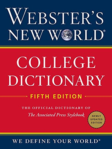 Webster's New World College Dictionary, Fifth Edition