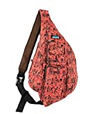 Sling Bag - Sling Backpack for Women and Men – Premium Quality Crossbody Bags for Women. Exclusive Memory Foam Comfort Strap – By Meru (Aztec)