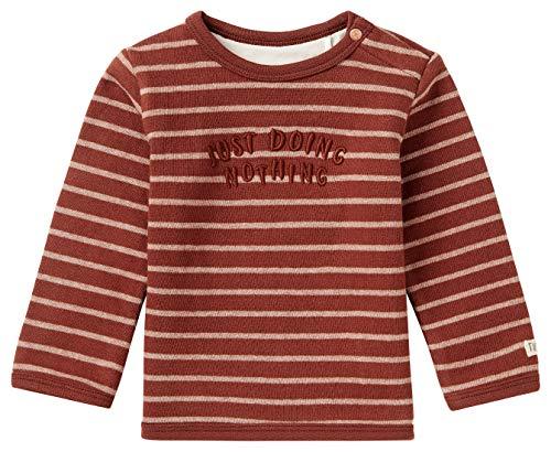Noppies Baby-Unisex U Sweater LS Hobhouse STR Sweatshirt, Mahoganey-P223, 50