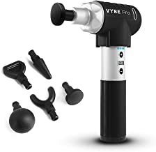 Quiet Professional Percussion Massage Gun - Vybe PRO Handheld Deep Muscle Massager