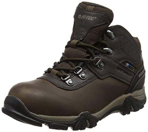 Hi-Tec Altitude VI Waterproof Junior, Chaussures de Randonnée Hautes Mixte Enfant, Marron (DK Chocolate), 38 EU