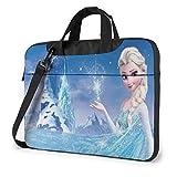 Hermosa bolsa de ordenador portátil de Frozen Busin Maletín para hombres y mujeres, hombro Menger funda para portátil bolsa de transporte - 15.6 pulgadas