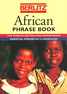Berlitz African Phrase Book and Dictionary
