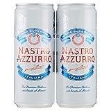 Nastro Azzurro Birra, Confezione da 2 x 330 ml