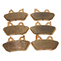 Foreverun Front and Rear Sintered Brake Pads Review