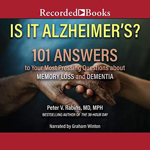 Is It Alzheimer's? cover art