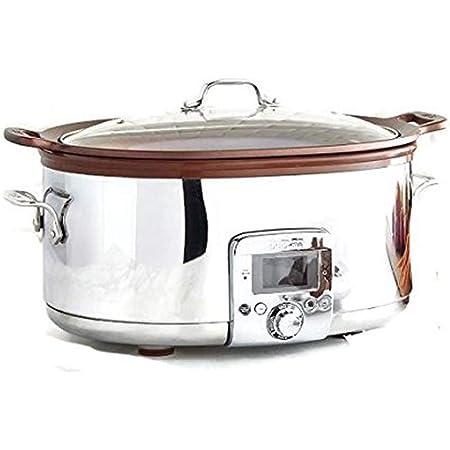 New All-Clad Gourmet 5-Qt Slow Cooker