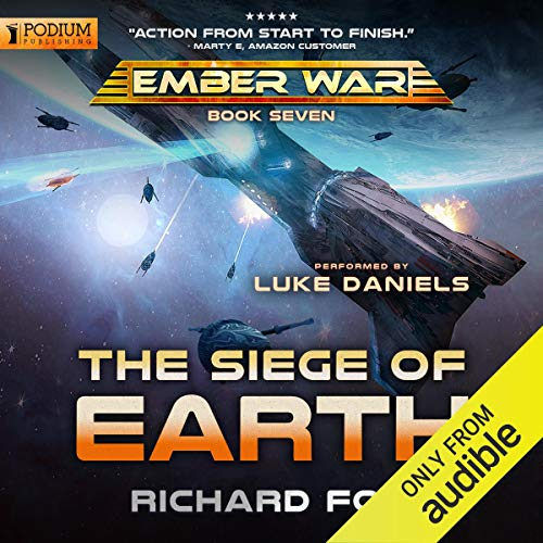 The Siege of Earth Audiobook By Richard Fox cover art