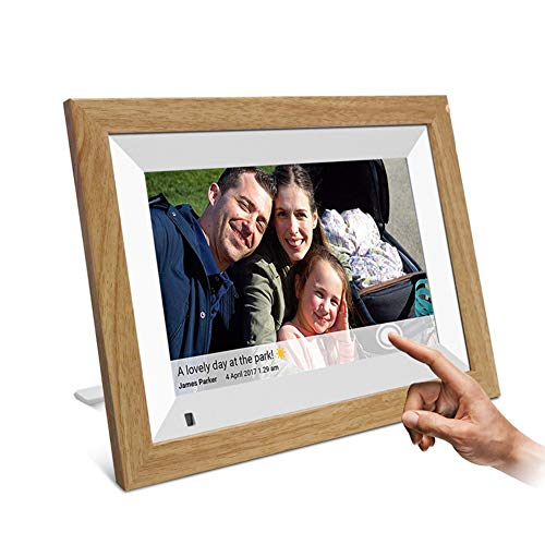 ZHANGXJ Intelligentes WiFi Digitale Bilderrahmen, Automatische Drehung Auflösung 800x1280, HD IPS-Bildschirm mit 178 °...