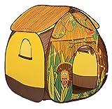 LUDI - Tente pop-up 'Jungle'110 x 110 x 140 cm. Dès 2 ans. Décor pour jouer à...