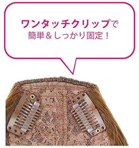 PRISILA(プリシラ)FX-05前髪ウィッグ・サイドありちゃん【ワンタッチ式・耐熱ウィッグ前髪エクステンション】(2-TNCナチュラルカラー)