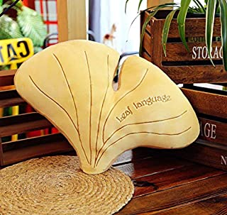LYH2019 Sofa Doll Mulberry Leaf Ginkgo Banana Creative Pillow Lazy Man Holding Sleeping Cute Plush Toy Home Decoration 50Cm