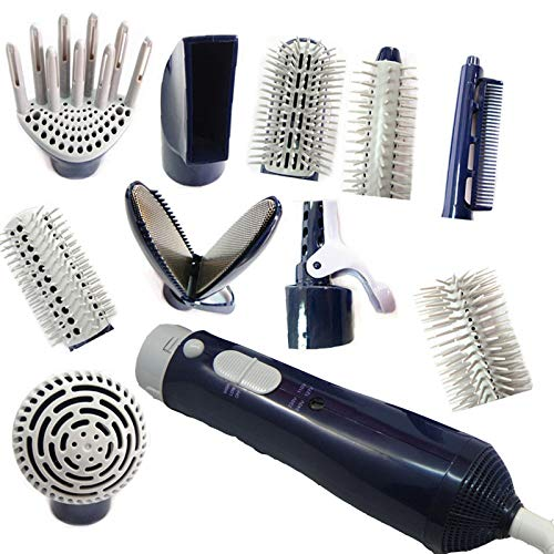 Peigne à air chaud Multifunctional Blow Dryer Professional Hairdryer Hair Style Tools With Whold Air Nozzle Brush