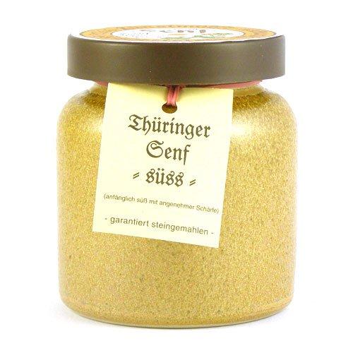 Senfmühle Kleinhettstedt Thüringer Senf süß - 270 ml