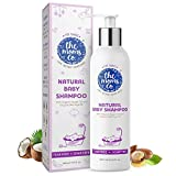 The Moms Co. Tear-Free Natural Baby Shampoo with USDA-Certified Organic Argan and Moringa Seed Oils (400ml)