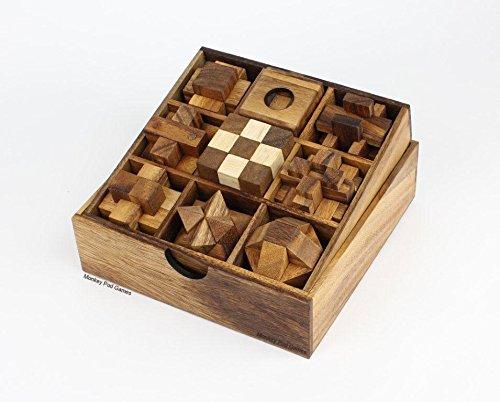 Monkey Pod Games Nine Puzzle Gift Set