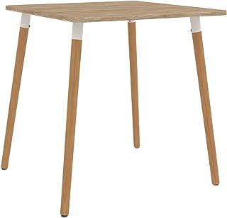 vidaXL Table de Salle à Manger Table à Dîner Table de Cuisine Table de Repas Meuble de Salle à Manger Maison Intérieur 80x...