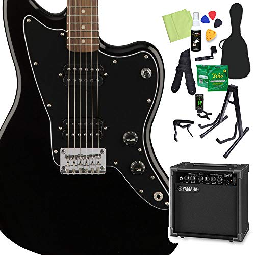 Squier by Fender Affinity Series Jazzmaster HH Black エレキギター 初心者14点セット ヤマハアンプ付 ジャズマスター スクワイヤー/スクワイア