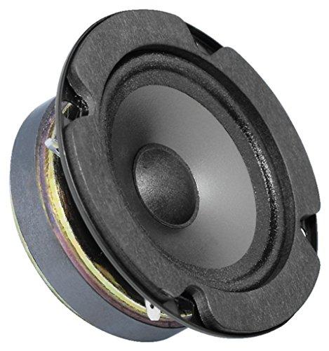 Monacor SPP-90 Tweeter Lautsprechertreiber 22 W - Speaker-Driver (Tweeter Lautsprechertreiber, 22 W, Rund, 45 W, 60 x 60 mm)