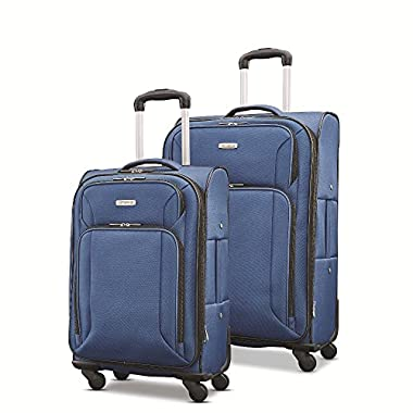 Samsonite Victory 2 Piece Nested Softside Set (21 /25 ), Navy Blue, Only at Amazon