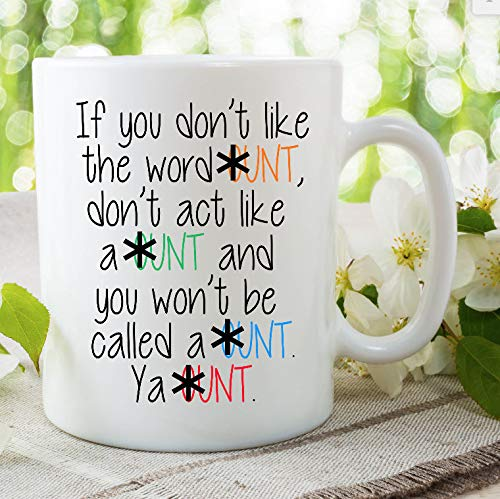 Cunt Mug Funny Cunt Quote Mug Funny Novelty Mugs Girlfriend Boyfriend Valentines Gifts Birthday Christmas Present Humour Cup Ceramic Cup - 11 ounces