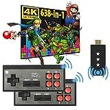 Fordim Retro Game Console,Wireless Controller,HDMI...
