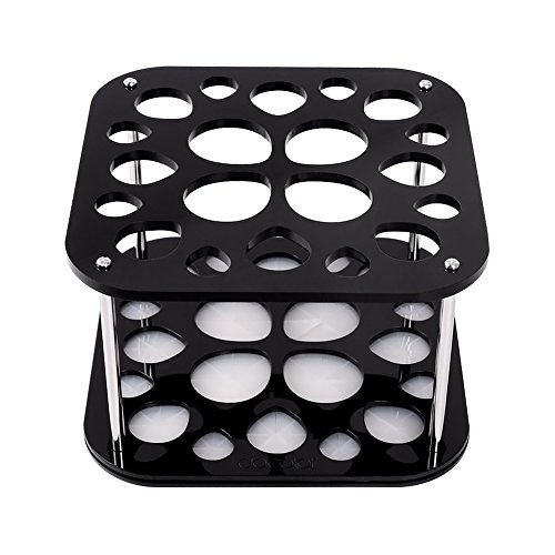 Docolor 20 Hole Makeup Brush Holder Tree Stand Air Drying Rack Organizer Cosmetic Shelf Tools